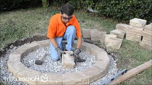 Fire Pit Liner by Firepits Decoration Fire Pit Liner How Many Retaining Wall