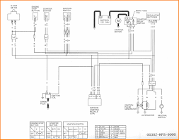 12 pit bike wiring diagram electric start cable diagram