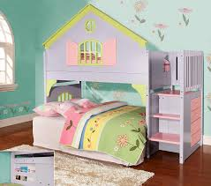 new playhouse twin size stairway loft bed