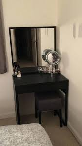 Small Desk Vanity Desk Bright White Vanity Desk Womens Makeup Vanity Black Vanity