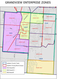 Mo Map Zoning And Other Maps Grandview Mo