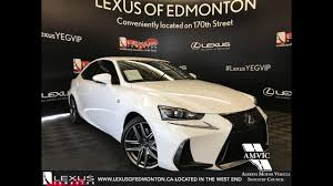 2017 lexus isf white lexus certified pre owned white 2017 is 350 f sport series 2