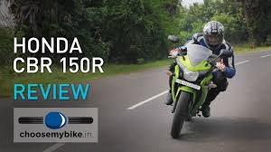 cbr bike on road price honda cbr 150r choosemybike in review youtube