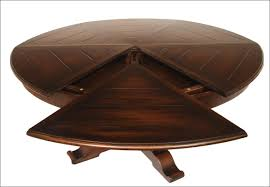 circle table that gets bigger coffee accent tables expanding bigger circle table expanding