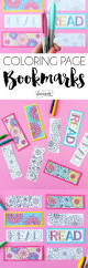 summer coloring page bookmarks bookmarks summer and blog