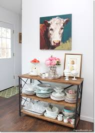 Kitchen Console Table With Storage 60 Rustic Farmhouse Console Table For Our Kitchen Rustic