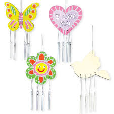 wooden spring wind chimes cleverpatch