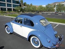 blue volkswagen beetle for sale volkswagen beetle bug 2 fold ragtop semaphores numbers matching ca