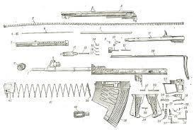 aps bureau de change aps rifle exploded view guns