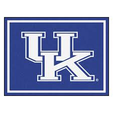 Football Area Rugs by University Of Kentucky Giant Logo Area Rug U2013 Zokee