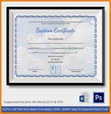 11 images of baptism certificates resume language