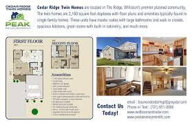 townhomes on bison u0026 cedar ridge williston nd apartment finder