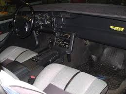 1999 Camaro Interior 1990 Chevy Camaro 1990 Chevrolet Camaro Iroc Z Picture Interior