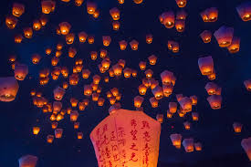 luck lanterns wish upon a lantern sky lantern unity wedding ritual