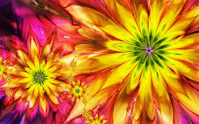 Colorful Pictures Abstract Colorful Flowers Wallpaper Hd Picture Cool Images Hd