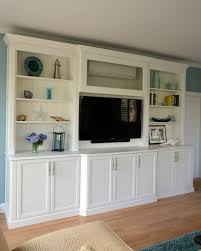 wall units how to build built in entertainment center built in