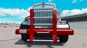 kenworth w900 parts heavy duty bumper for kenworth w900 for american truck simulator