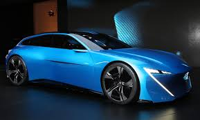 peugeot luxury car peugeot instinct concept previews hybrid self driving technologies