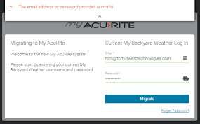 Backyard Weather My Acurite Migration Update Acurite Customer Community