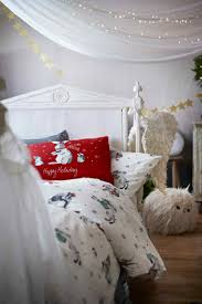 Christmas Duvet Cover Sets Christmas Duvet Cover Set Natural White Christmas Home All