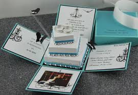Sweet 15 Invitations Cards Jinky U0027s Crafts U0026 Designs Tiffany Inspired Invitation Box