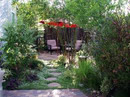 small backyard landscape ideas no grass backyard fence ideas