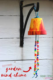 kid u0027s craft ideas garden wind chimes