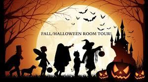 fall halloween room tour youtube