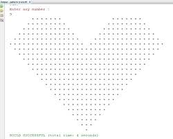 java pattern programs for class 10 how to print heart pattern in java hypatia s blog