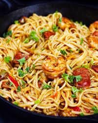 cajun shrimp pasta ev u0027s eats