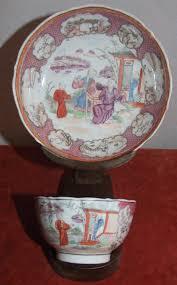mandarin porcelain 19th c export porcelain mandarin ware cup and saucer