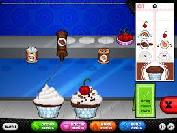 jeux de cuisine papa s decorating cupcakes on papa s cupcakeria primarygames com