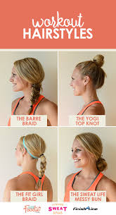 Cute Sporty Hairstyles 11 Gym Hairstyles You U0027ll Wear All Summer Long Gym Hairstyles