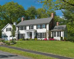 colonial home colonial home landscape houzz
