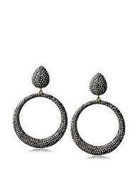 hoop la earrings de ravenel kate hoop la la earrings 345 liked on