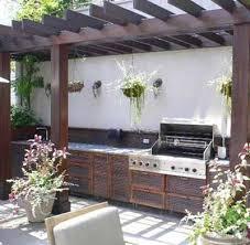 back yard kitchen ideas summer kitchen outdoor rooms modern backyard ideas