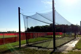 retractable batting cages by victory athletics inc