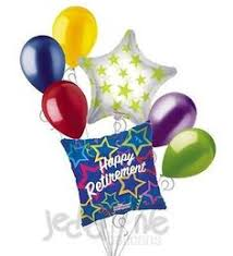 retirement balloon bouquet push pin thank you balloon bouquet products