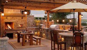 backyard kitchen design ideas 17 stunning covered outdoor kitchen design ideas style motivation