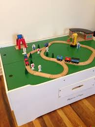 melissa and doug train table and set popular melissa and doug train table with optional railway set