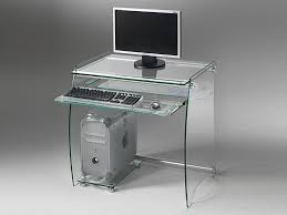 Schreibtisch Ausfahrbar Schreibtisch Für Computer Aus Glas
