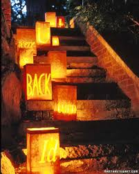 halloween light decoration ideas scary message lanterns martha stewart