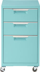 tps 3 drawer filing cabinet tps file cabinet cb2 159 aqua carbon pink white 15 5 w