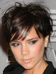 medium length wavy hairstyle victoria beckham hairstyle simple hairstyle ideas for women and