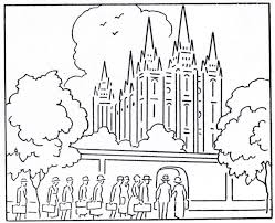 photos lds church coloring pages free lds temple