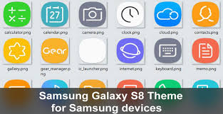 galaxy themes store apk samsung galaxy s8 theme for samsung devices droidviews