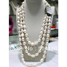 pearl necklace jewelry store images Online shop fabulous large irregular pearl necklace jewelry jpg