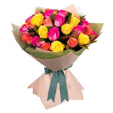 roses bouquet send flowers bouquet of 15 mix roses flowers online flowers