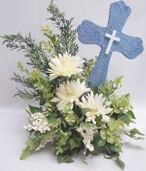 baptism centerpieces 1st communion christening or baptism centerpiece designs by ginny