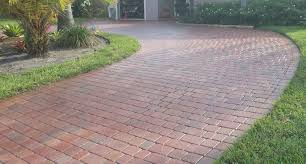 Basket Weave Brick Patio by Kiran Group Multi Disciplined Engineering Contracting And